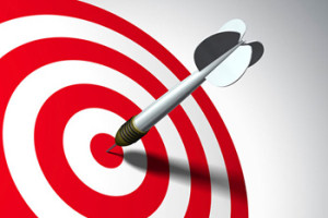 Increase Your Profits Bullseye target